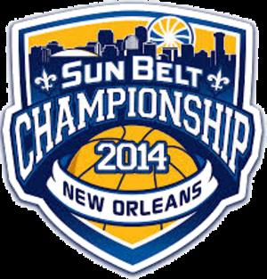 2014 Sun Belt Conference Men's Basketball Tournament - Sun Belt Tournament Logo