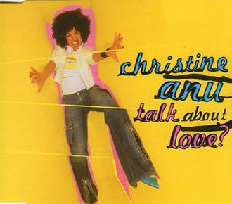 Talk About Love - Image: Talk About Love by Christine Anu