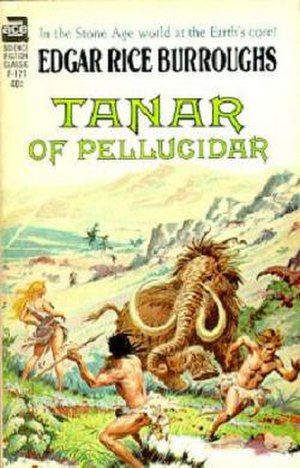 Tanar of Pellucidar - First paperback edition of Tanar of Pellucidar