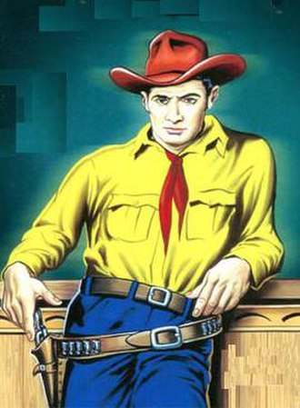 Tex Willer - Tex Willer as he appeared in Lion Comics.