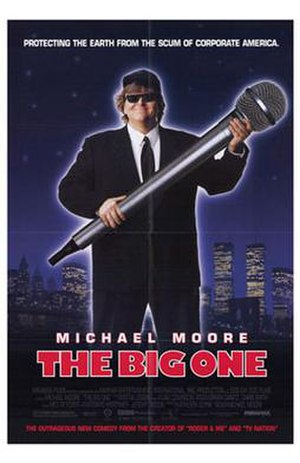 The Big One (film) - Theatrical release poster