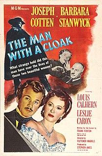 <i>The Man with a Cloak</i> 1951 film by Fletcher Markle