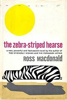 <i>The Zebra-Striped Hearse</i> book by Ross Macdonald