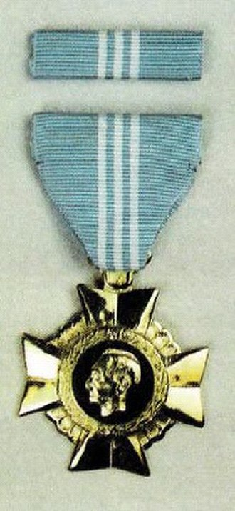Gold Cross (Philippines) - Medal and Ribbon of the AFP Gold Cross.