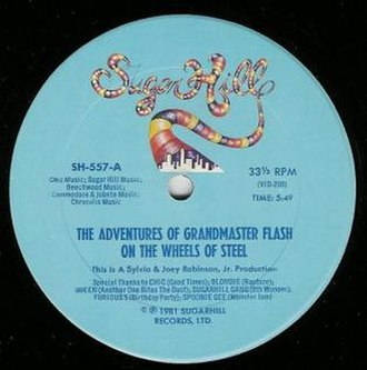 The Adventures of Grandmaster Flash on the Wheels of Steel - Image: The Adventures of Grandmaster Flash on the Wheels of Steel