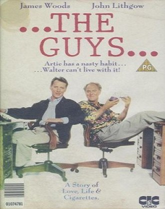 "The Boys (1991 film) - UK VHS cover of ""The Guys"""