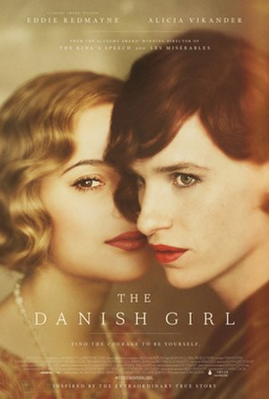 The Danish Girl (film) - Theatrical release poster