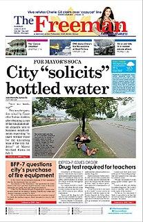 <i>The Freeman</i> (newspaper) A daily newspaper published in Cebu, Philippines