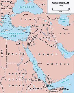 Middle East Theatre of World War II