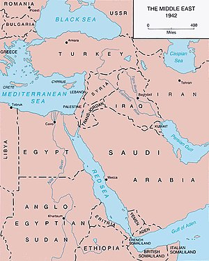 Middle East Theatre of World War II Wikipedia
