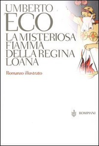 The Mysterious Flame of Queen Loana - First edition (Italian)