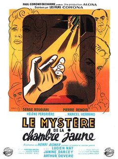 <i>The Mystery of the Yellow Room</i> (1949 film) 1949 film by Henri Aisner