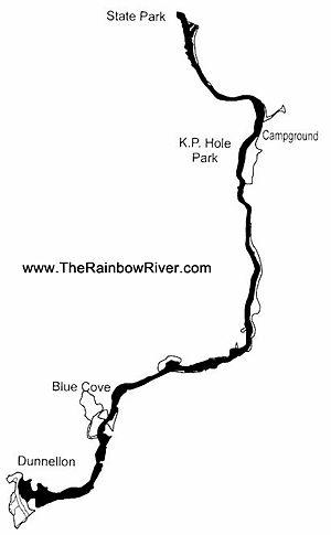 Rainbow Springs - The Rainbow River Path
