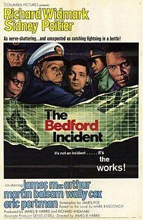 <i>The Bedford Incident</i> 1965 film by James B. Harris