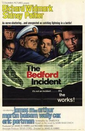 The Bedford Incident - theatrical poster