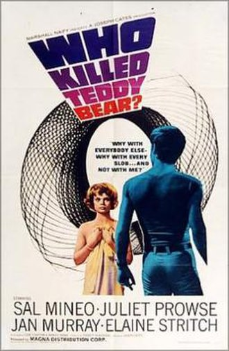 Who Killed Teddy Bear - Theatrical release poster