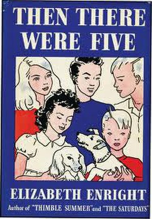 Then There Were Five - First edition cover with Enright artwork