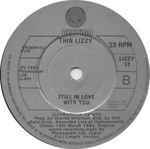 Still in Love with You (Thin Lizzy song) - Image: Thinlizzystillinlove