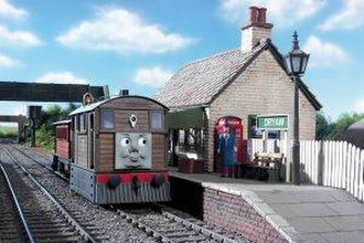 Toby the Tram Engine - Toby's Model in Series 8 (2004)