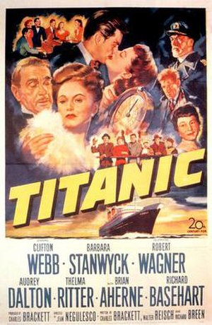 Titanic (1953 film) - film poster