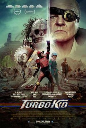 Turbo Kid - Theatrical release poster