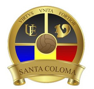 UE Santa Coloma - Alternative badge.