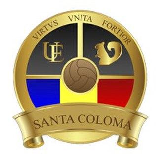 UE Santa Coloma - Alternative badge.