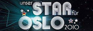Germany in the Eurovision Song Contest 2010 - Logo of Unser Star für Oslo