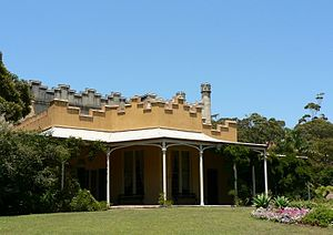 John Piper (military officer) - Vaucluse House, one of Piper's properties in Sydney