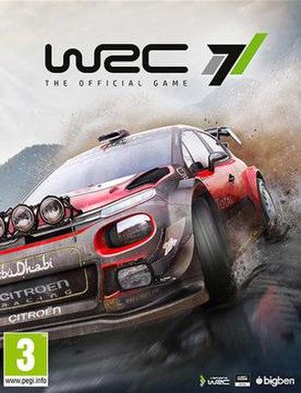 WRC 7 - European edition cover art