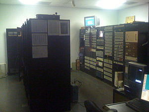 Central apparatus room - WREX-TV tech core, or CAR