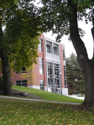 Edward R. Murrow College of Communication - The Kathi Goertzen Communication Addition opened in 2004.