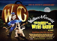 Wallace & Gromit: The Curse of the Were-Rabbit (2005) poster.
