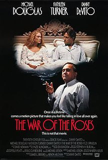 <i>The War of the Roses</i> (film) 1989 drama comedy movie directed by Danny DeVito