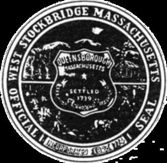 West Stockbridge, Massachusetts - Image: West Stockbridge MA seal