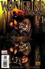 Wolverine: Origins #1 (June 2006). Cover art by Michael Turner.