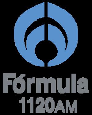 XEPOP-AM - Image: XEPOP Formula 1120 logo