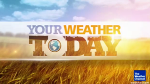 America's Morning Headquarters - Your Weather Today logo used from April 16 to November 9, 2012.