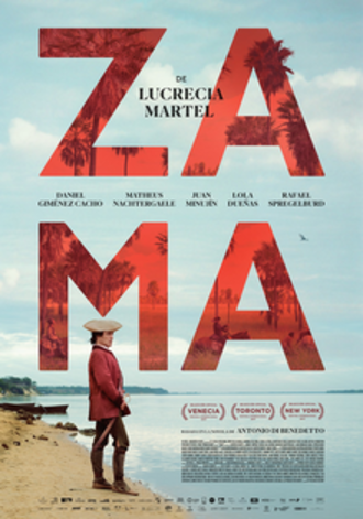 Zama (2017 film) - Theatrical release poster