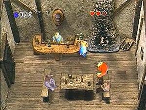 Zelda's Adventure - A screenshot from Zelda's Adventure