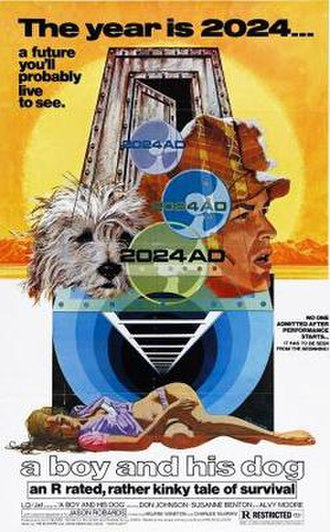 A Boy and His Dog (1975 film) - Theatrical release poster