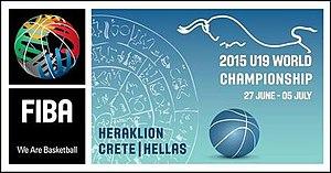 2015 FIBA Under-19 World Championship - Image: 2015 FIBA U 19 WORLD CHAMPIONSHIP LOGO