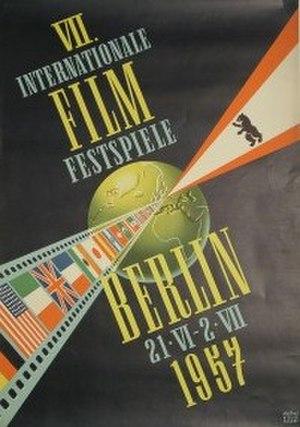 7th Berlin International Film Festival - Festival poster