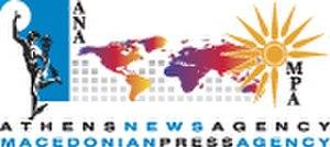 Athens-Macedonian News Agency - Image: ANA MPA logo