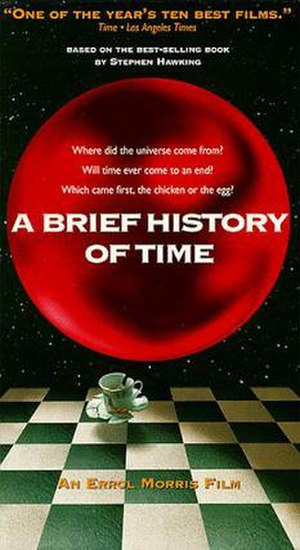 A Brief History of Time (film) - VHS cover