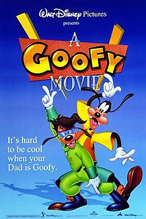 <i>A Goofy Movie</i> 1995 animated film directed by Kevin Lima