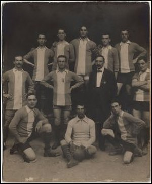 U.S. Alessandria Calcio 1912 - An early photo of FBC Alessandria