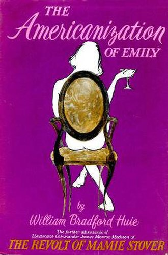 The Americanization of Emily - Cover of the novel