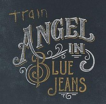 train angel in blue jeans