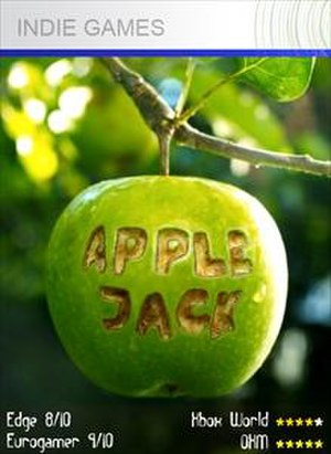 Apple Jack (video game) - Image: Apple jack video game